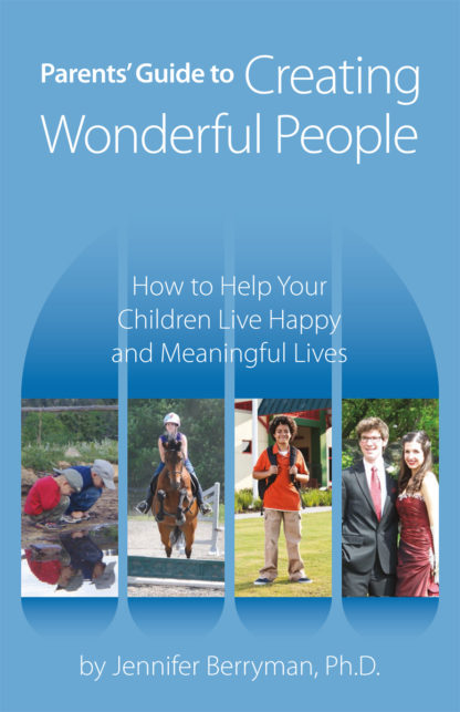 Parents' Guide to Creating Wonderful People cover